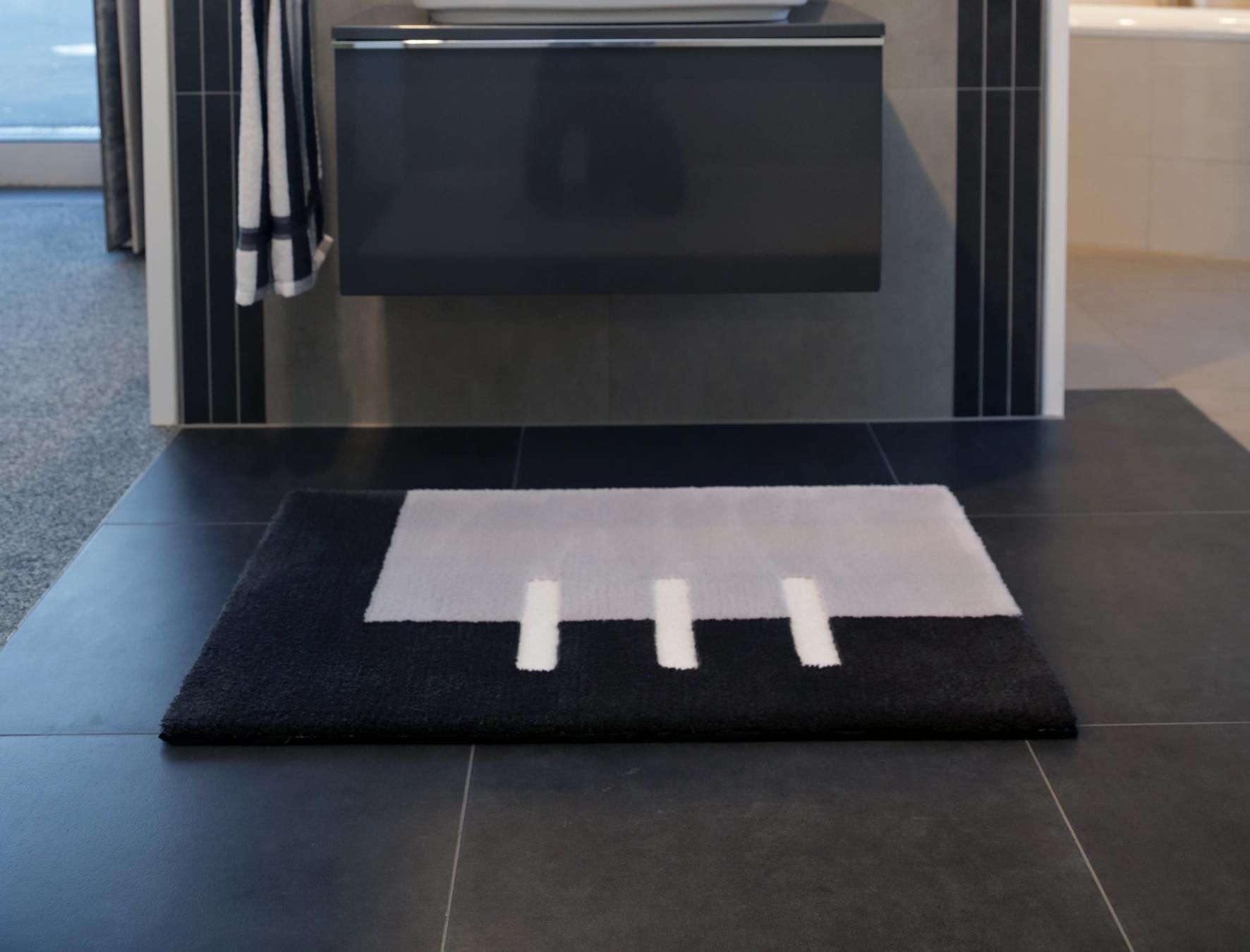 neues badteppich design badteppich imola wohn badteppiche nach ma. Black Bedroom Furniture Sets. Home Design Ideas