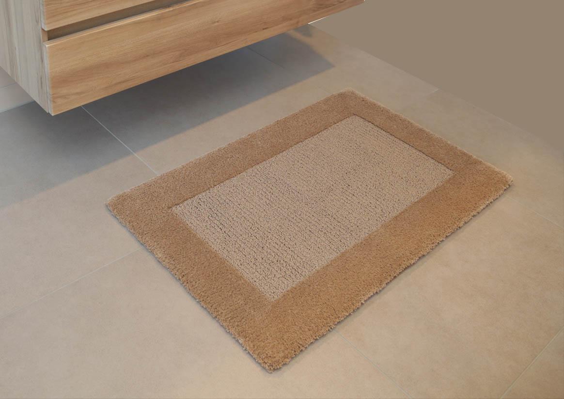 Badteppich SIENA (Baumwolle mit Rückenbeschichtung)