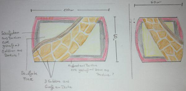 Die Badteppich-Entwürfe