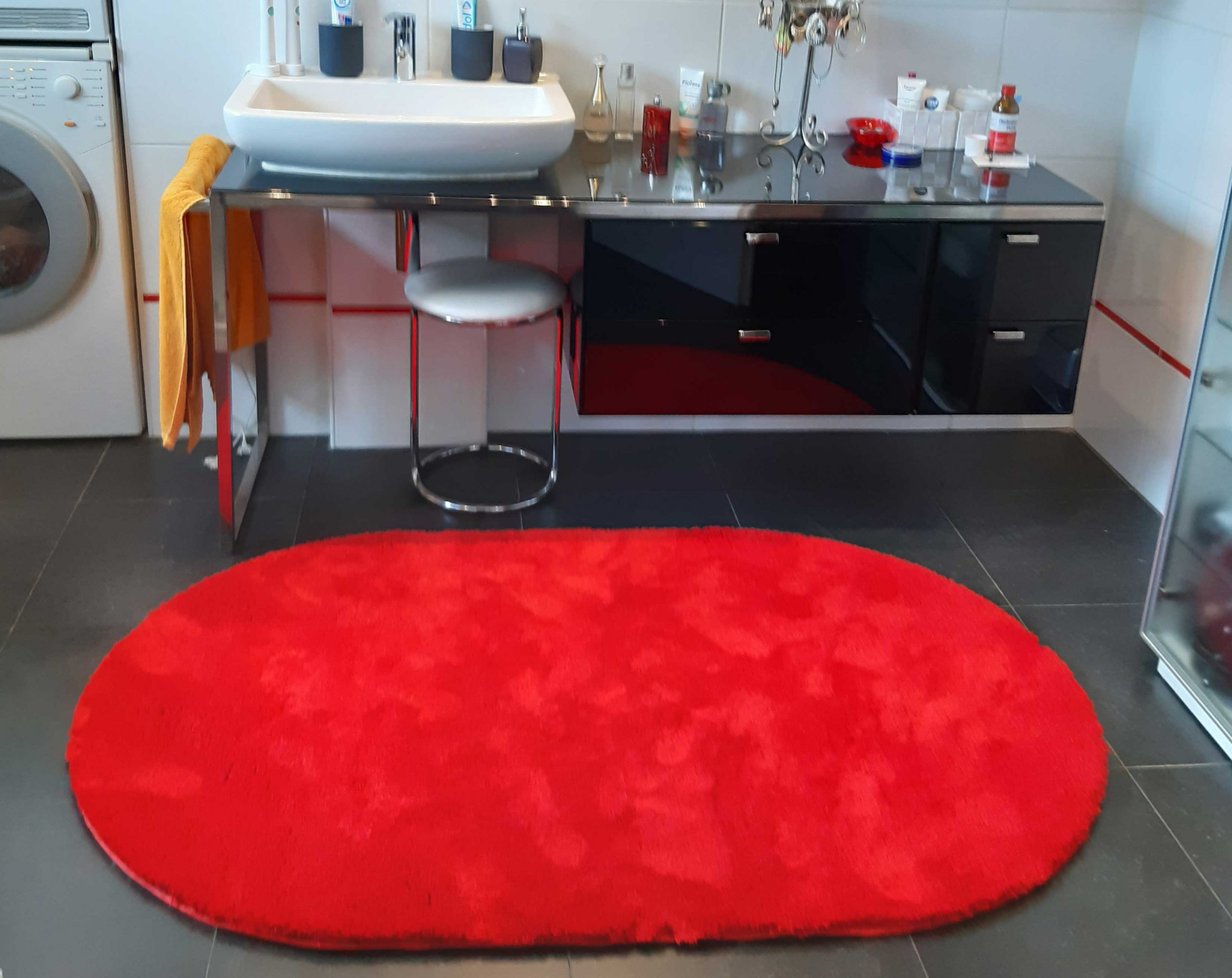 Badteppich tolle Farbe und super Verarbeitung