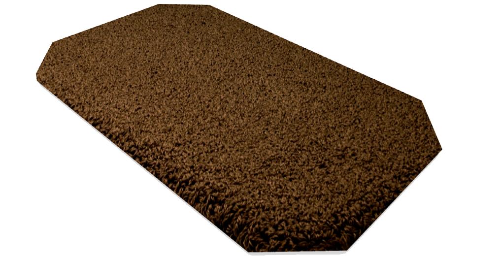 Badteppich ROMA, Form B 1 achteckig