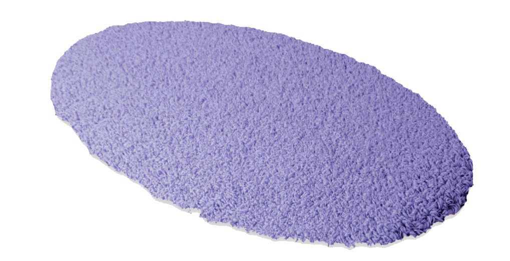 Badteppich ROMA, Form F 1 elipse