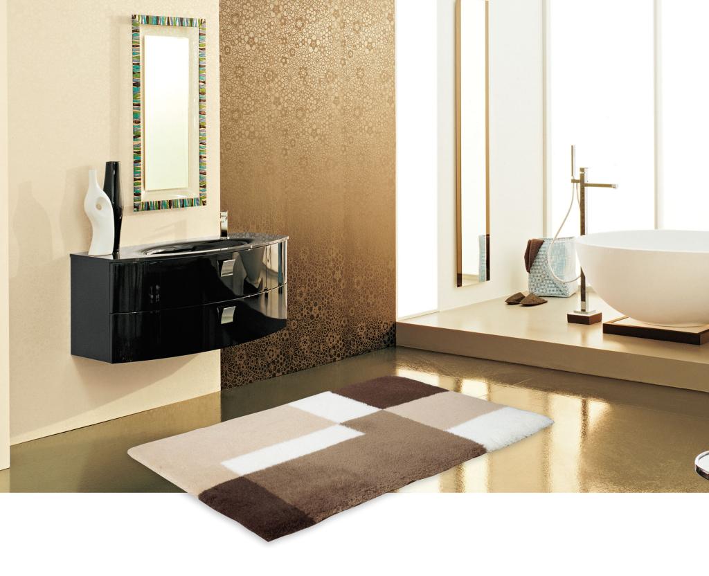 kollektion wohn badteppiche nach ma. Black Bedroom Furniture Sets. Home Design Ideas